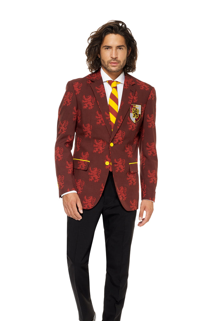 The You'Re A Harry Wizard | Gryffindor Harry Potter Suit By Opposuits