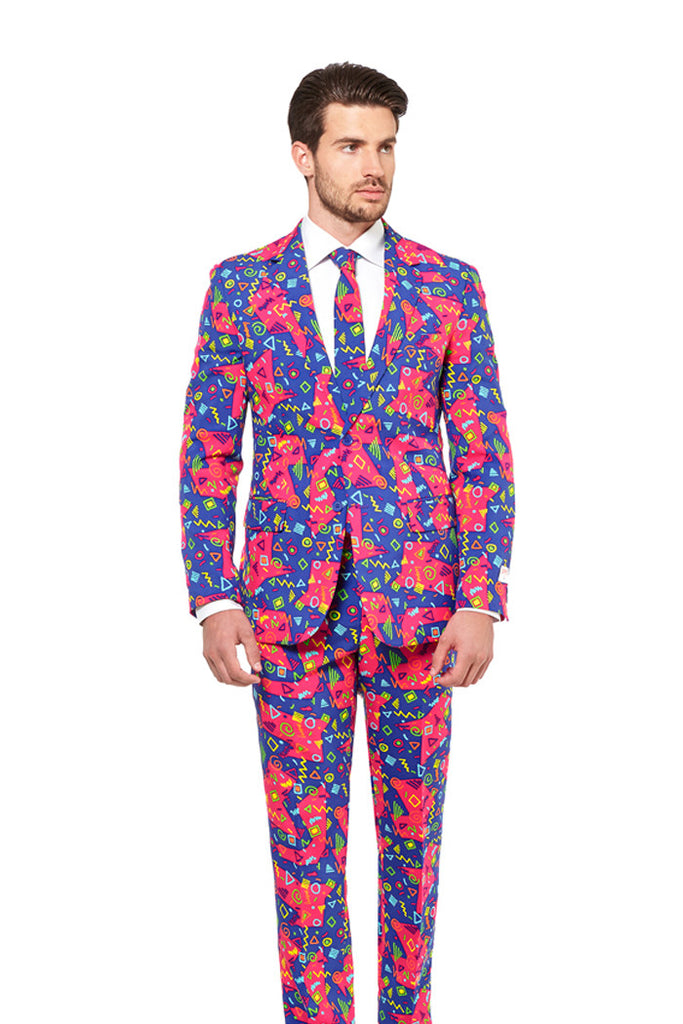 The Bus Printz 90's Party Suit by Opposuits