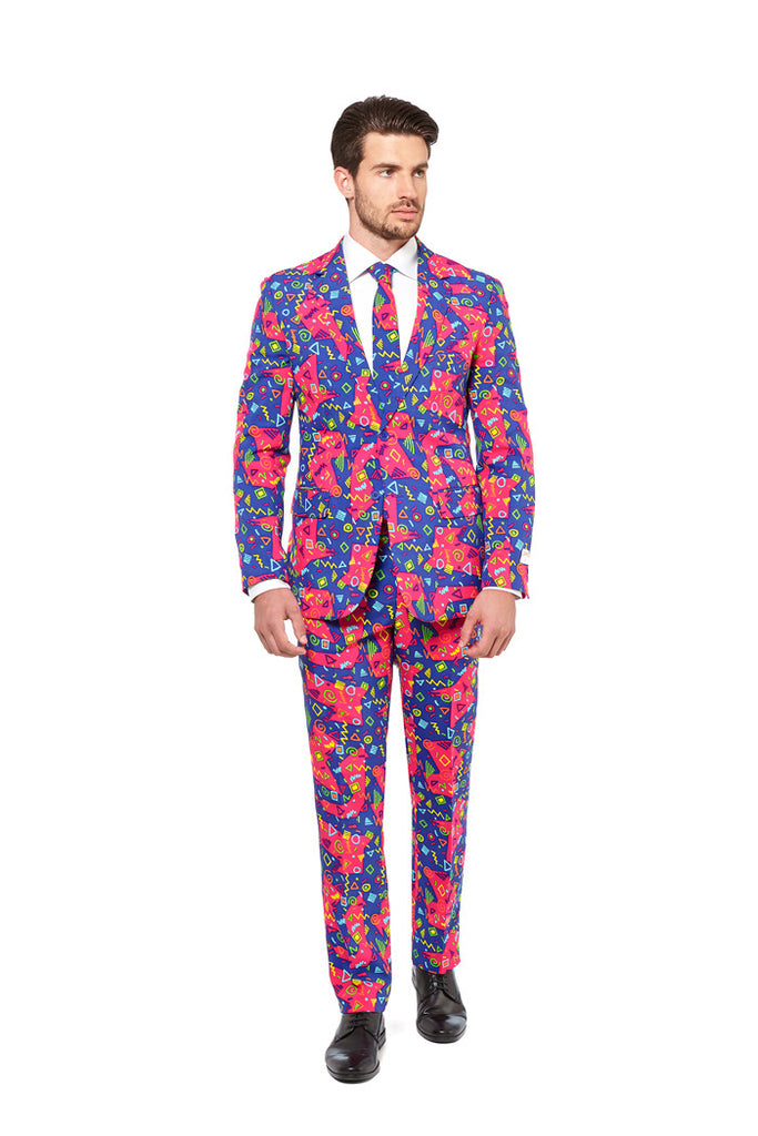 The Bus Printz Party Suit by Opposuits