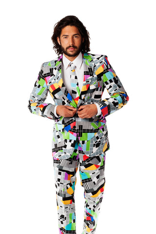 Crazy Retro 80s Mens Suit