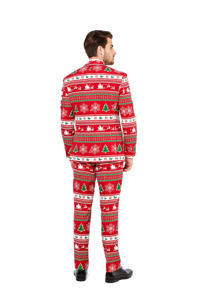 The Soiree of Sin Ugly Christmas Sweater Pants And Blazer