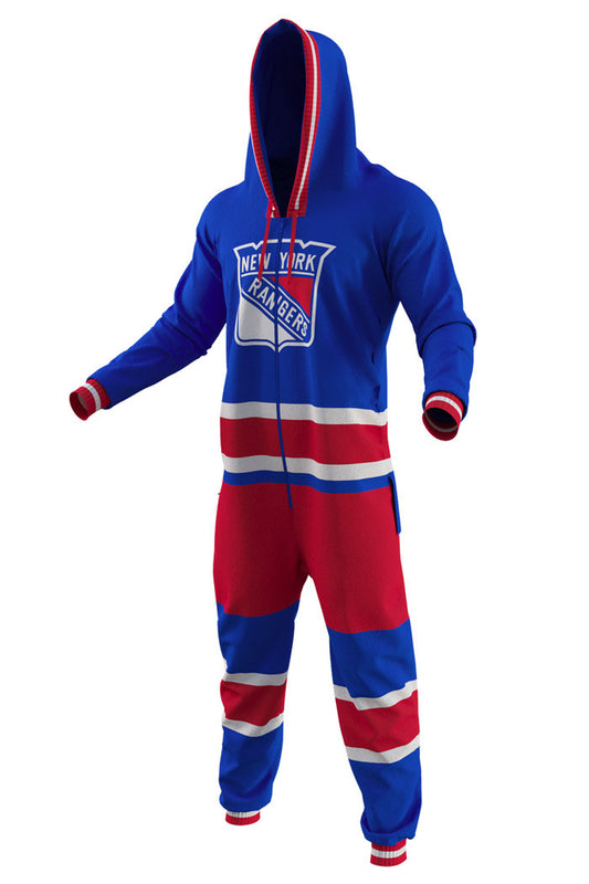 New York Rangers Onesie Pajamas