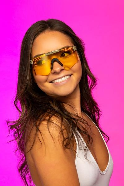 The Range | Yellow Lens Pit Viper Sunglasses