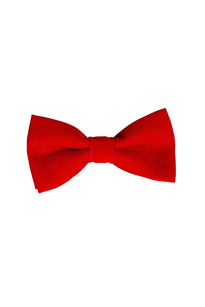 Solid Red | Bow Tie