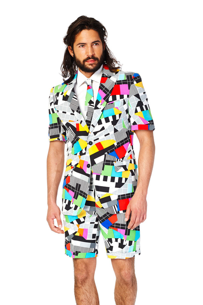 Bahamian Junkanoo Summer Dress Suit by Opposuits