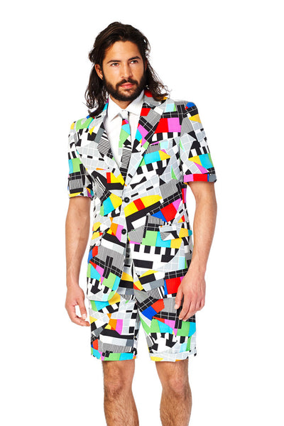 Crazy 80s Mens Summer Suit