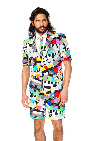 Bahamian Junkanoo Summer Dress Suit by Opposuits - Shinesty