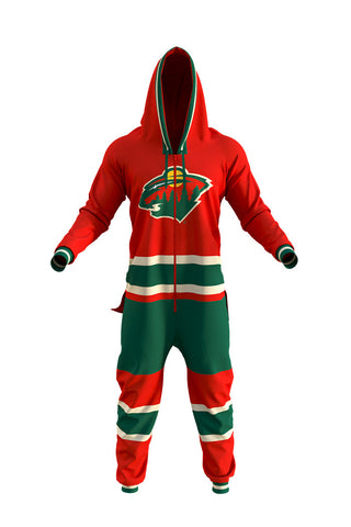 Minnesota Wild Onesie For Adults