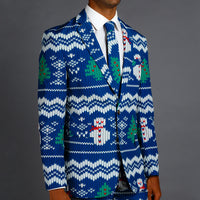 Men's Less Ugly Christmas Suits