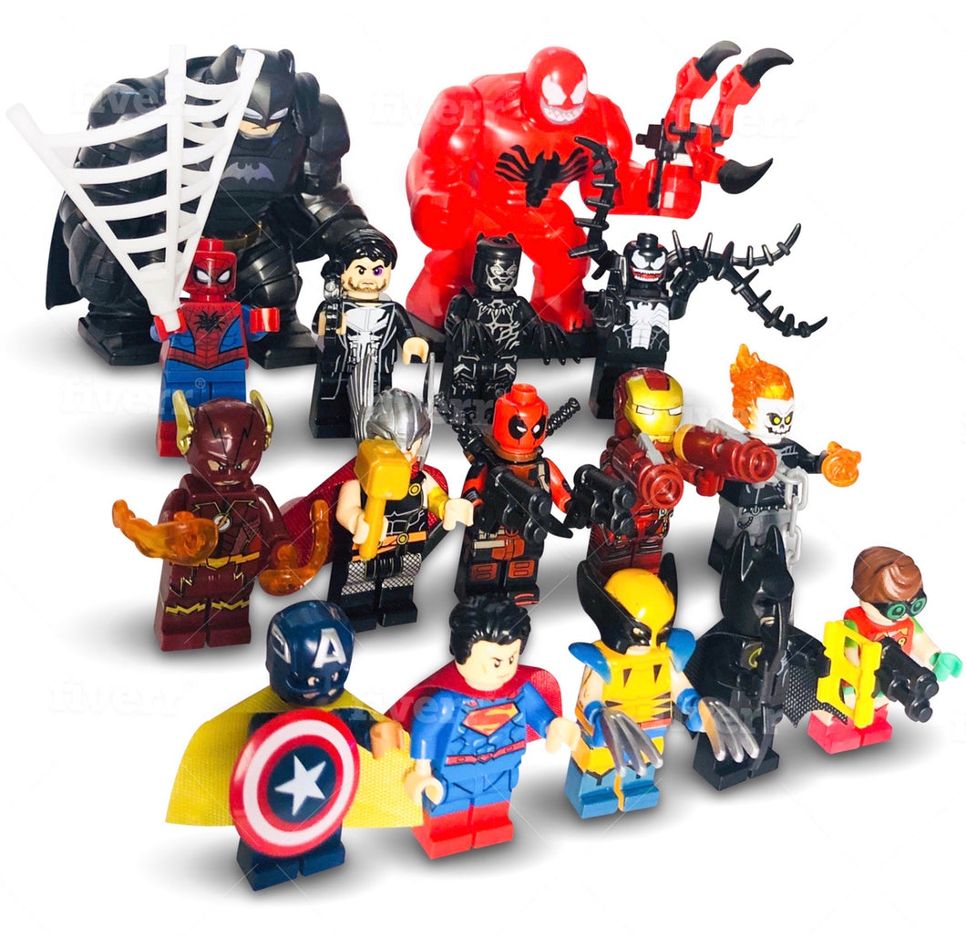 Marvel Superhero all character Collection building Toys Mini figure Fits Lego UK
