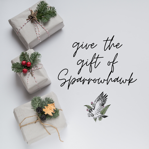 Give the gift of Native Plants with a gift card to Sparrowhawk Native Plants in Portland Oregon