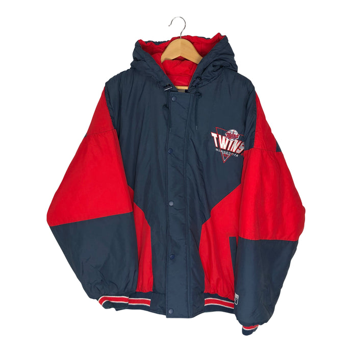 Vintage Minnesota Twins Logo 7 Full Zip Jacket - Men's Large