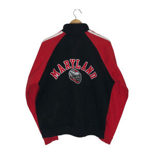 Vintage Champion Maryland Terrapins Full Zip Sweatshirt - Men's Medium