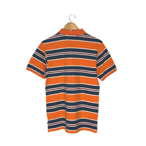 Vintage Nautica Striped Polo Shirt - Men's XS