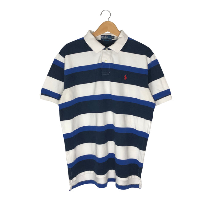 Vintage Polo Ralph Lauren Striped Polo Shirt - Men's XL