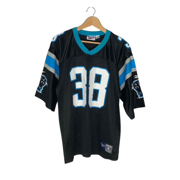 Vintage Reebok Carolina Panthers Tyrone Poole Jersey - Men's Medium