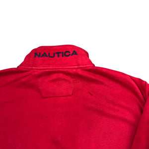 Nautica Zippered Sweatshirt - Men's Large