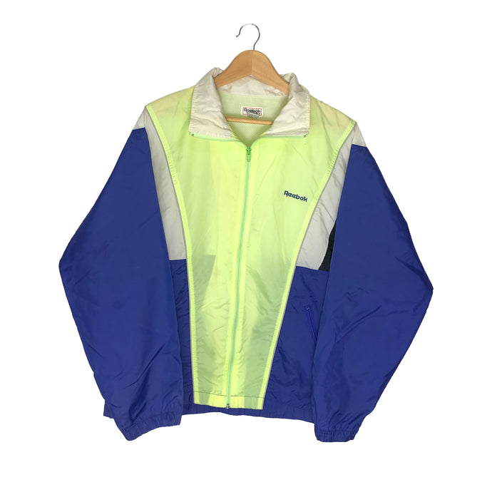 Vintage Reebok Colorblock Windbreaker - Men's Large