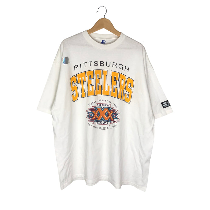 Vintage 1996 Starter Pittsburgh Steelers T-Shirt - Men's XXL