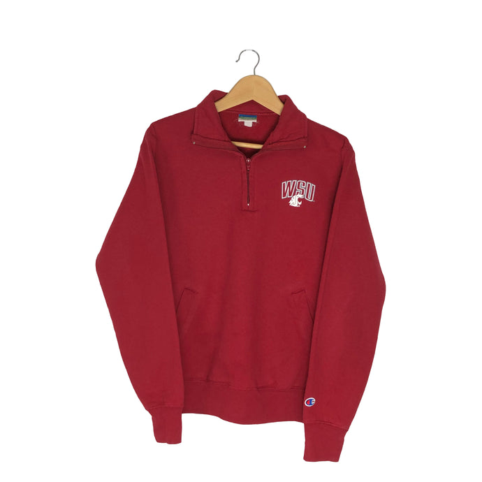 Vintage WSU 1/4 Zip Pullover - Men's Small