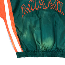 Load image into Gallery viewer, Vintage Starter Miami Hurricanes Colorblock Windbreaker - Men's Medium