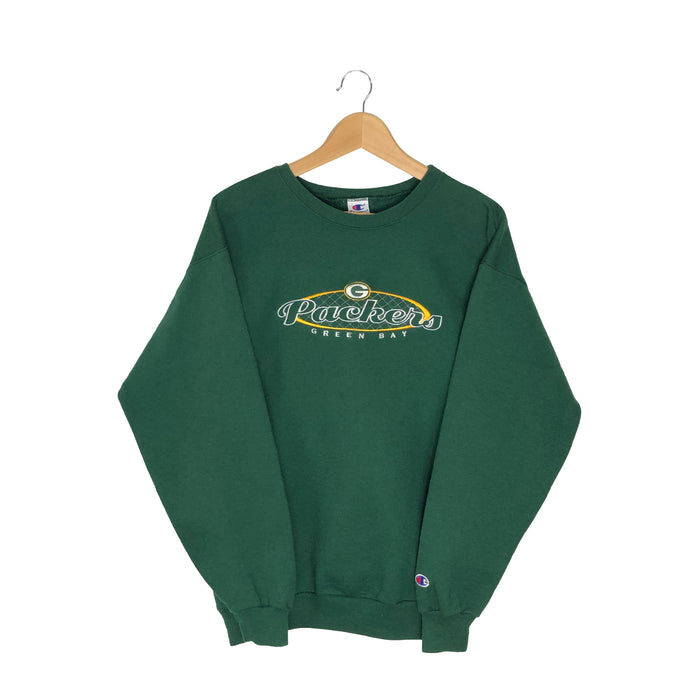 Vintage Champion NFL Green Bay Packers Sweatshirt - Women's Large