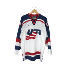Load image into Gallery viewer, Vintage Nike Team USA Hockey Jersey - Men's Medium