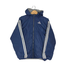 Load image into Gallery viewer, Vintage Adidas Big Logo Reversible Insulated Jacket - Women's Large