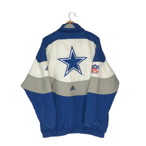 Vintage Dallas Cowboys Insulated Jacket - Men's Large