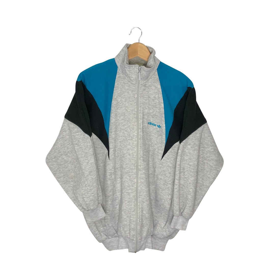 Vintage 80s Adidas Colorblock Sweatshirt - Women's Large