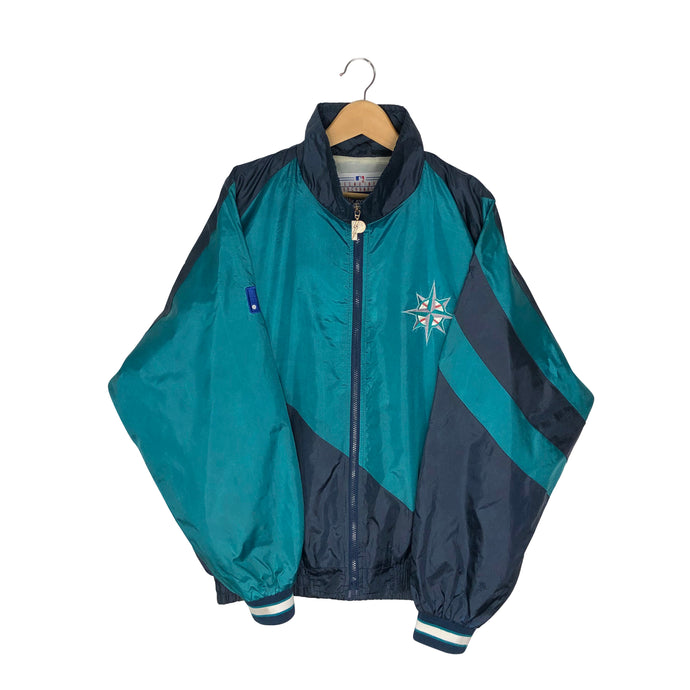 Vintage Pro Player Seattle Mariners Colorblock Windbreaker - Men's XL