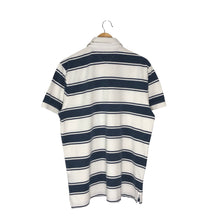 Load image into Gallery viewer, Tommy Hilfiger Striped Rugby Polo Shirt - Men's Large