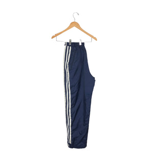 Vintage Adidas Zip Away Track Pants - Men's Medium