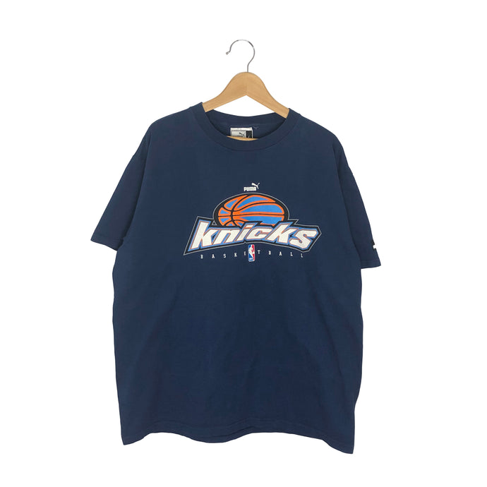 Vintage Puma NBA New York Knicks T-Shirt - Men's XL