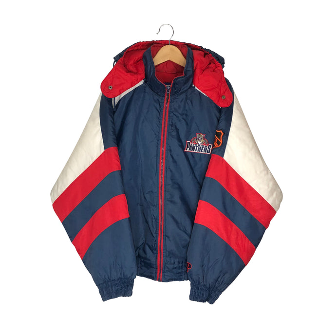 Vintage Pro Player Florida Panthers Insulated Jacket - Men's XL