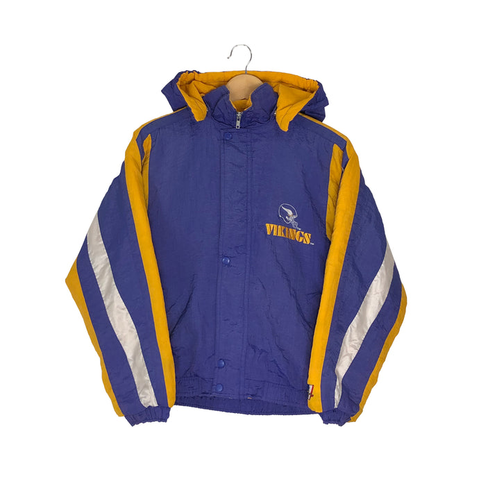 Vintage Minnesota Vikings Insulated Jacket - Women's Large
