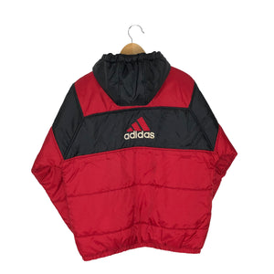 Vintage Adidas Big Logo Insulated Jacket - Men's Small