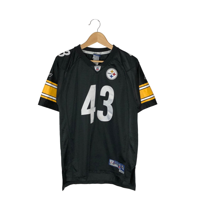 Reebok NFL Pittsburgh Steelers Troy Polamalu #43 Jersey - Men's Small