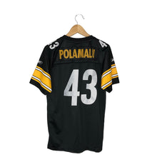 Load image into Gallery viewer, Reebok NFL Pittsburgh Steelers Troy Polamalu #43 Jersey - Men's Small
