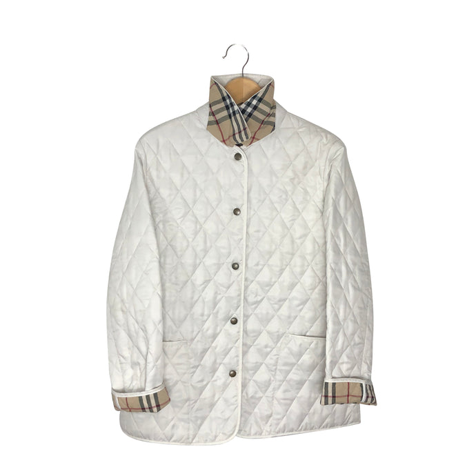 Burberry Nova Check Quilted Jacket - Women's Medium