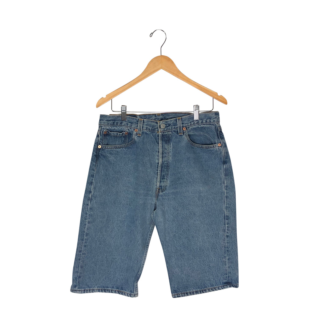 Vintage Levis 501 Denim Shorts - Men's 34