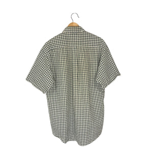 Vintage Tommy Hilfiger Buttoned-Down Checkered Shirt - Men's Medium