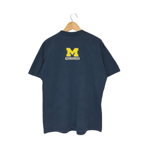 Vintage Michigan Football T-Shirt - Men's Large