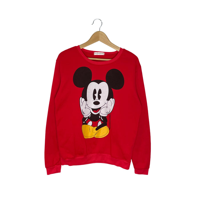 Disney Mickey Mouse Sweatshirt - Women's Large