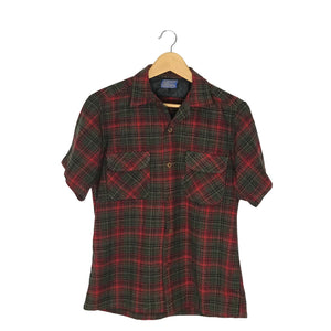Vintage Pendleton Flannel Shirt - Women's Medium
