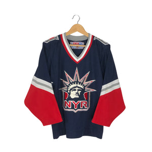 Vintage CCM New York Rangers Lady Liberty Jersey - Men's Small