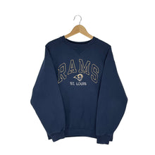 Load image into Gallery viewer, Vintage Reebok NFL St. Louis Rams Sweatshirt - Women's Large