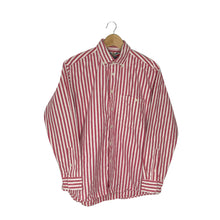 Load image into Gallery viewer, Vintage Button-Down Striped Shirt - Men's Large