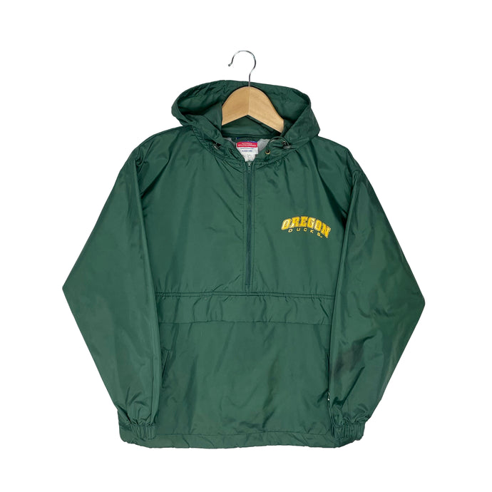 Vintage Champion Oregon Ducks 1/2 Zip Windbreaker - Men's XS