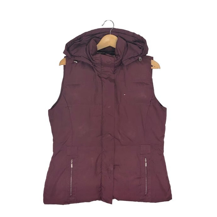 Tommy Hilfiger Hooded Insulated Vest - Women's Large